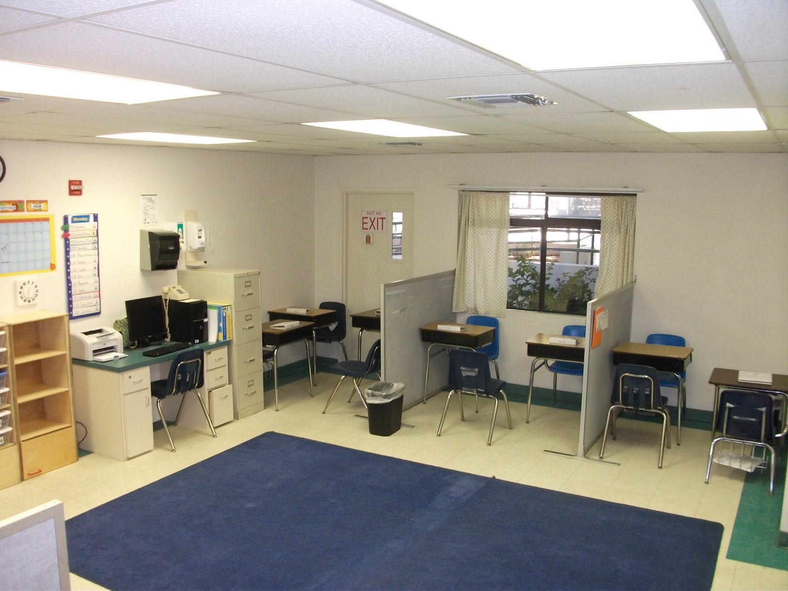 Classroom Design For Students With Autism : Classroom in the corner my part