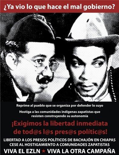 ¡Libertad y Justicia!