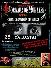 4a Jornada de Murales vs la Represión y la Guerra