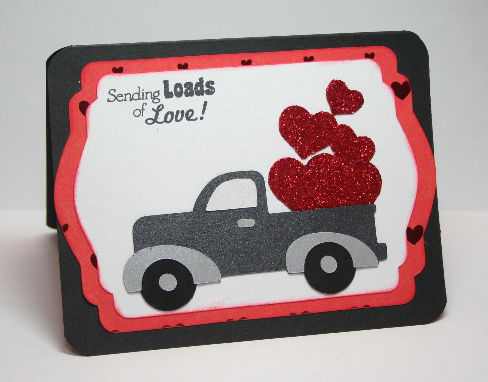 Corri Garza Cricut Cardz Challenge 60 Valentine Card for a Man – Cricut Valentines Cards
