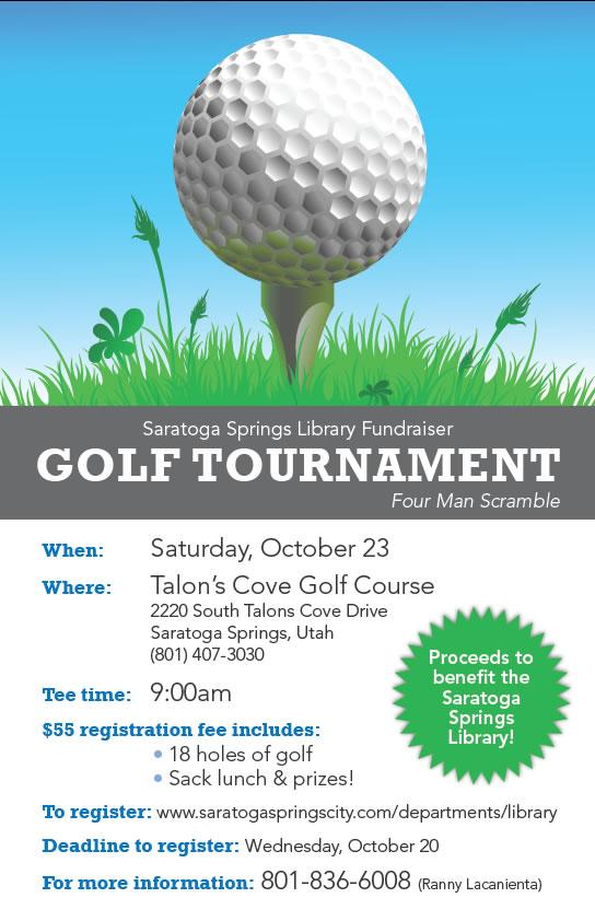 Golf Scramble Flyer Template 7th Annual Ibew Local 420 Vs 457