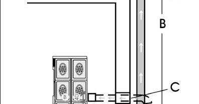 Ecocalderas instalacion de una estufa de pellet for Normativa salida de humos estufa de pellets