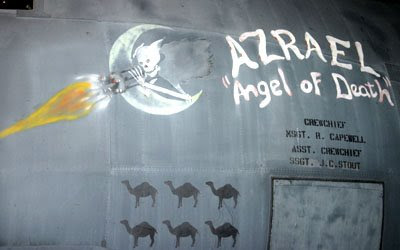 angel of death most lethal flying artillery against terrorists
