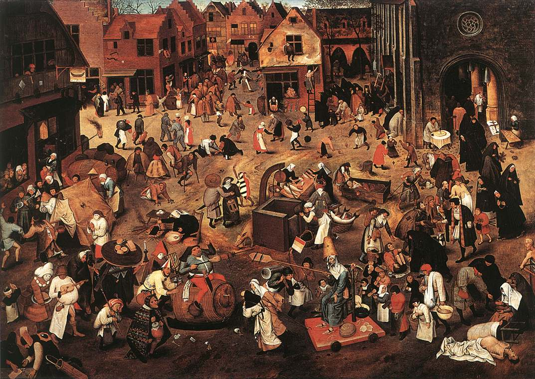Famous Paintings of Hell http://rompedas.blogspot.com/2010/05/hell-brueghel.html