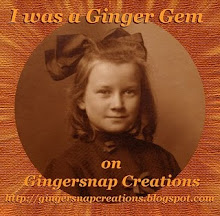 Gingersnap  Creations Challenge Blog
