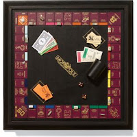 Barney's Monopoly Board