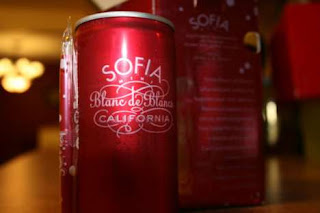 sofia wine mini can