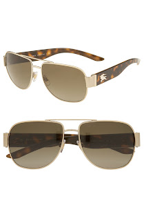 Burberry Square Aviator Sunglasses