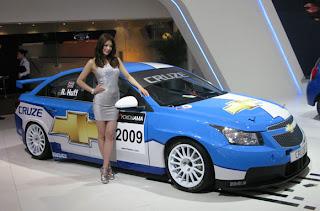 2009 shanghai motor show girls