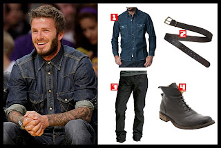 david beckham denim
