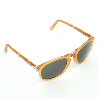 Persol 0714 Folding Yellow Sunglasses