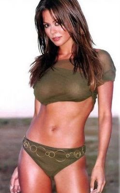 brooke burke works out