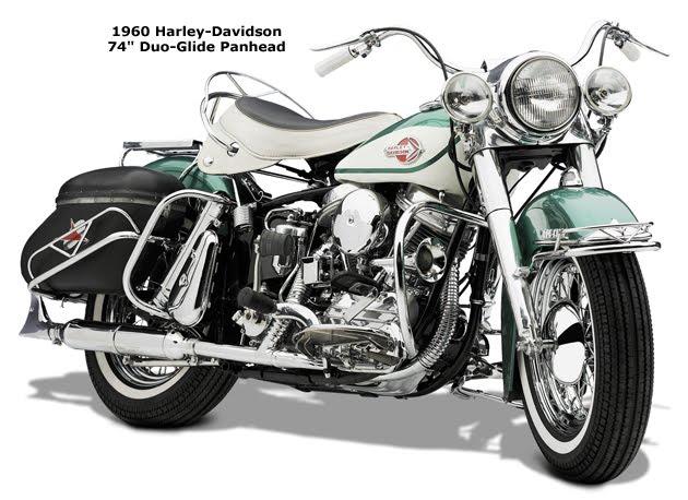 1948 - introdução do motor Panhead