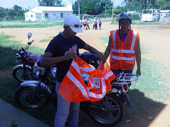 Continua el Operativo de Registro e Identificación de Unidades tipo Moto en la Parroquia Campo Lara