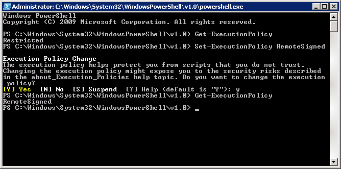 how to code and run powershell