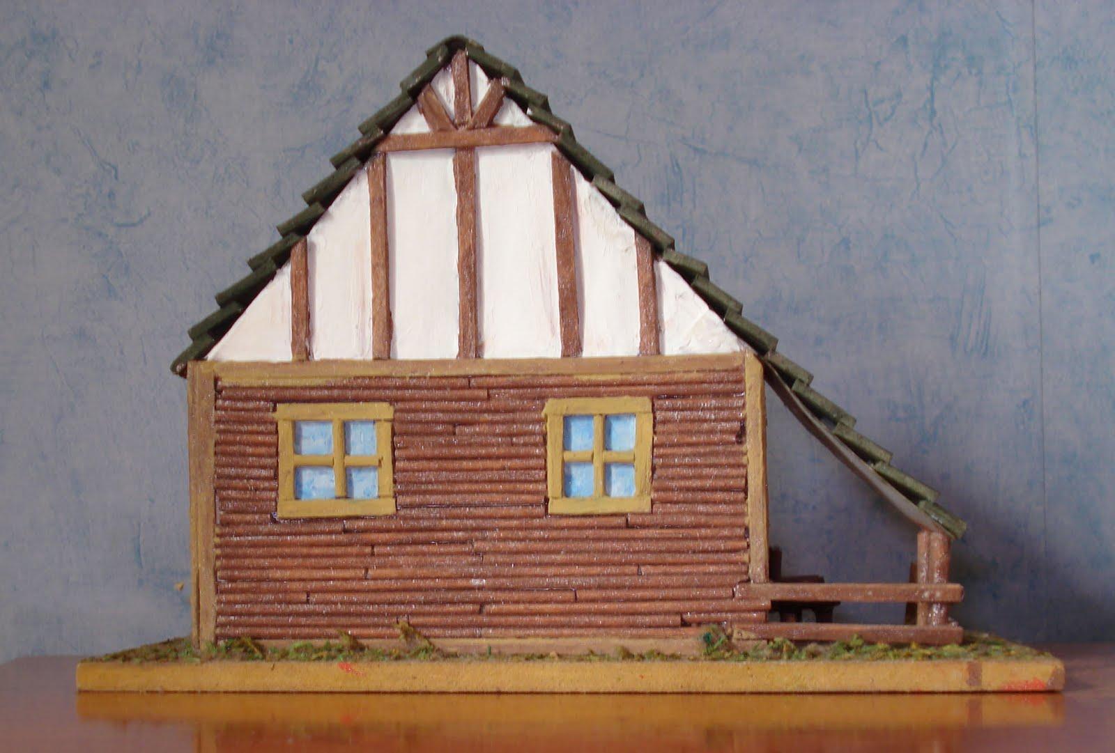 MANUALIDADES Y OTROS ENTRETENIMIENTOS: Como hacer una casa con papel ...