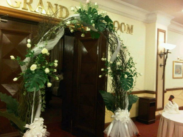 Labels fresh flower wedding arch malaysia package wedding arch