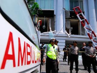 Ledakan Bom Di Ritz Carlton dan JW Marriot.