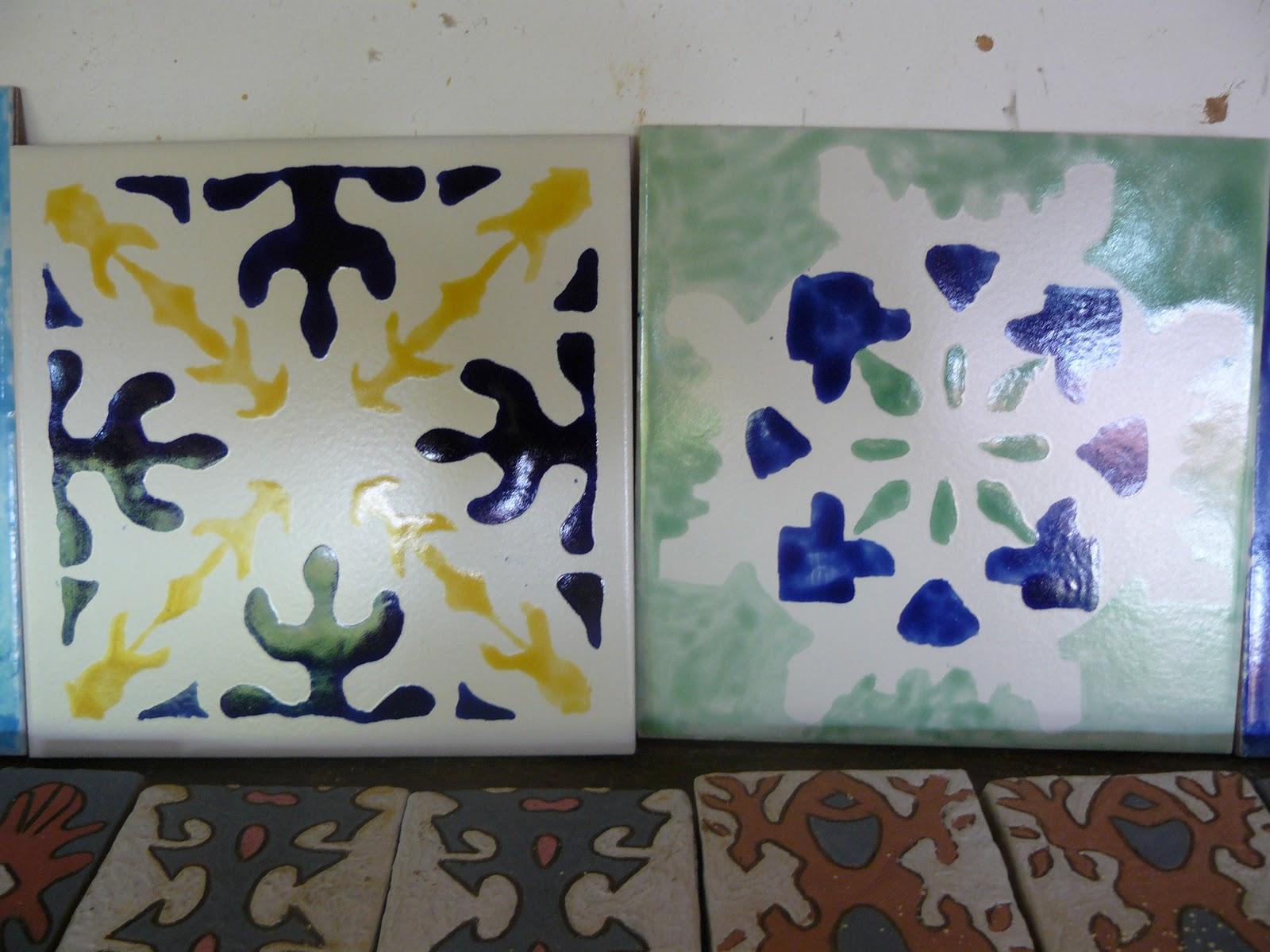 Decoracion de baldosas y ceramica utilitaria baldosa - Ceramica decoracion ...
