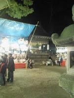 今日は埼玉県越谷市の久伊豆神社で縁起市の巻。