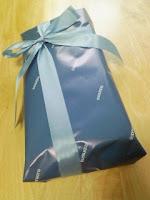 嫁からもらったバレンタインデープレゼントはフィラのトランクス。