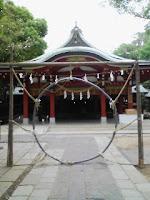 埼玉県越谷市の久伊豆神社にあるこれは何?の巻。