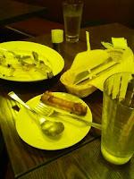 イタリア料理グラッチェデュオ代々木駅前で打ち合わせの巻。