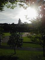 早稲田大学所沢キャンパス陸上競技場の巻。