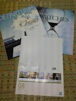 先月届いたアメックス・プラチナ会員誌DEPARTURESの巻。