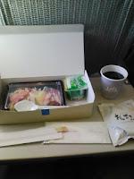韓国発日本行きのJAL機内食はご飯の巻。
