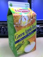 リプトン「グリーンアップルティー」を飲んだ感想。