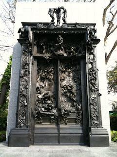 国立西洋美術館にある地獄の門