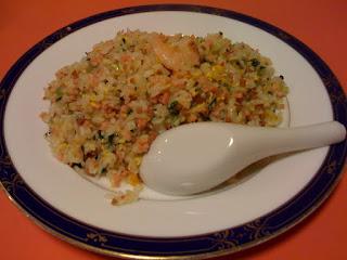 越谷市中国料理翡翠(ひすい)の五目炒飯