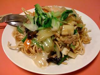 越谷市中国料理翡翠(ひすい)のかた焼きそば