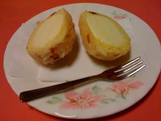 越谷市中国料理翡翠(ひすい)のアイスクリームの天ぷら