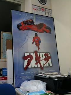 越谷レイクタウンでアキラのポスターを買った