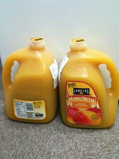 コストコ新三郷で買ってきたマンゴージュースを飲んだ感想