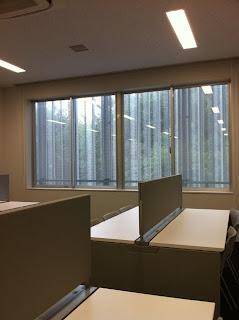早稲田大学所沢キャンパスの101号館にある自習室