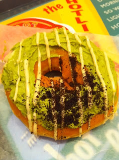 越谷レイクタウンにあるクリスピー・クリーム・ドーナツのクッキー グリーンティー