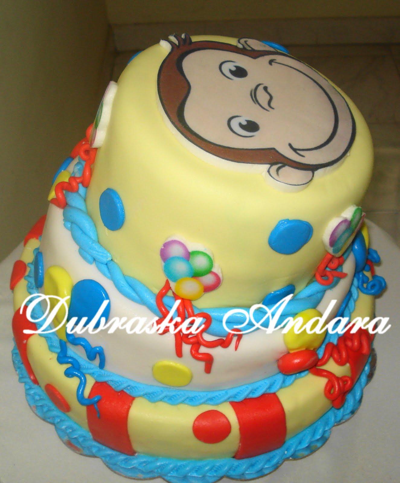 Torta Jorge el Curioso ♡ | Tortas Bellas | Pinterest
