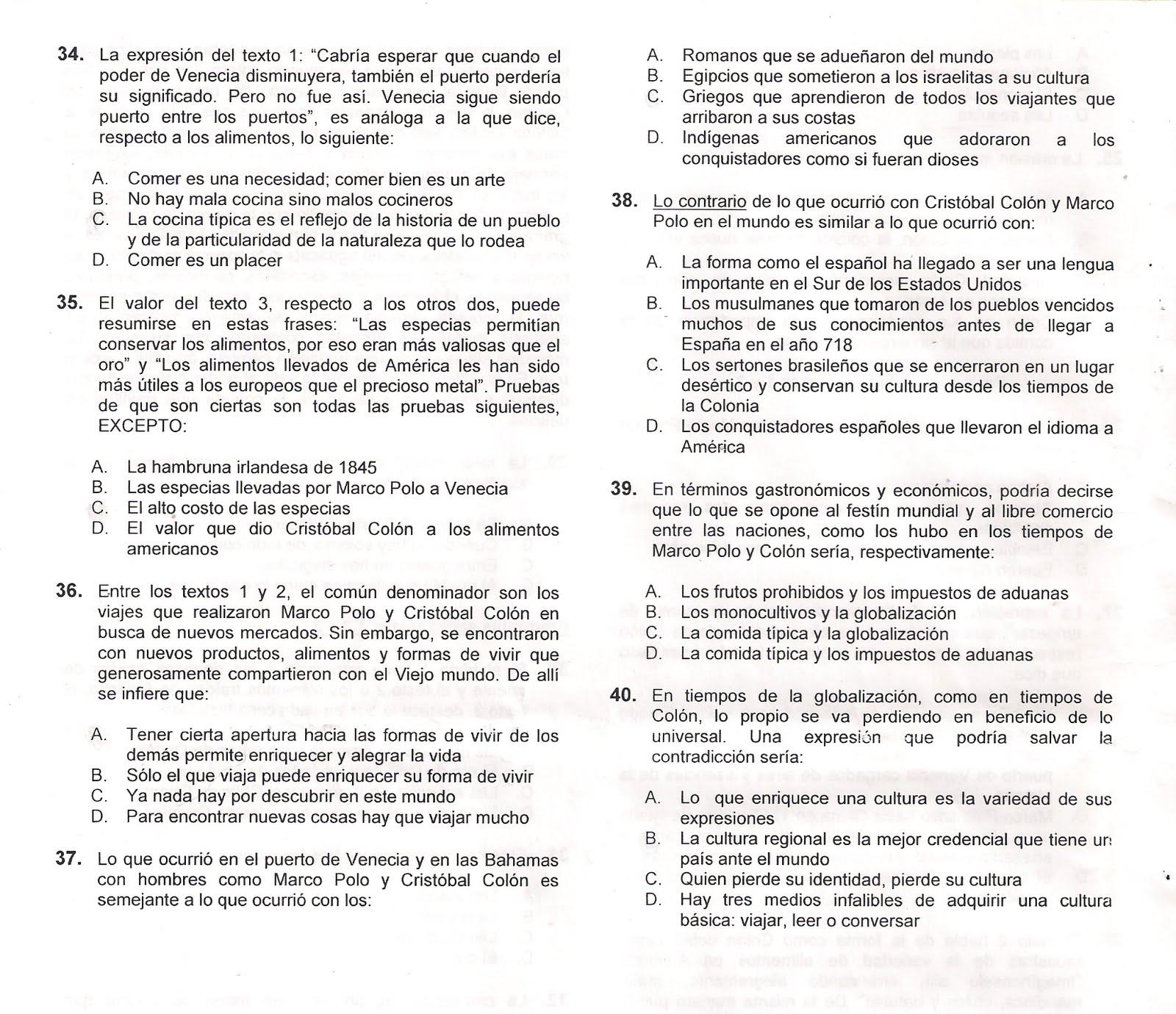 examen udea 2010 lunes pm hoja 11 | EL MUNDO DE LAS MATEMÁTICAS