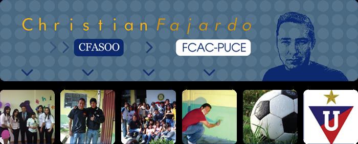 Christian Fajardo  - CFASOO - FCAC-PUCE