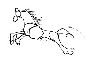 Horse Unit Study Part 5 Drawing Horses