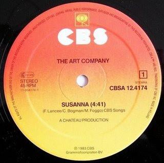 SUSANNA CHORDS by The Art Company @ Ultimate-Guitar.Com