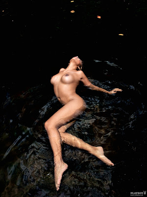 German Singer and Actress Indira Weis in  Playboy, Germany, February 2011 Hot Wallpapers