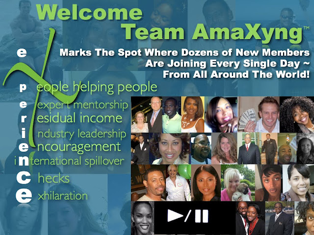 TeamAmaxyng.com Product & Income Testimonies - PRESS PLAY