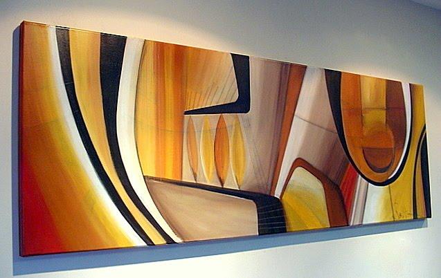 Cuadro abstracto moderno imagui for Cuadros coloridos modernos