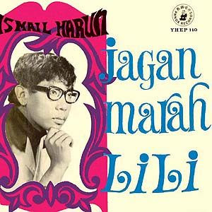 This is one of ISMAIL HARONs EP. And malam tadi dia ada nyanyi lagu ...
