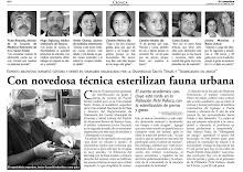 Noticia esterilización Masiva