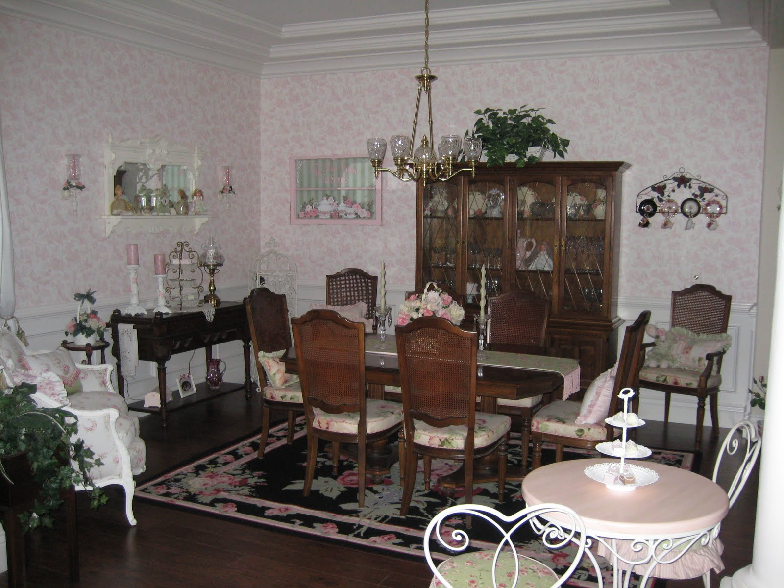 All over roses my dining room for My dining room 9 course